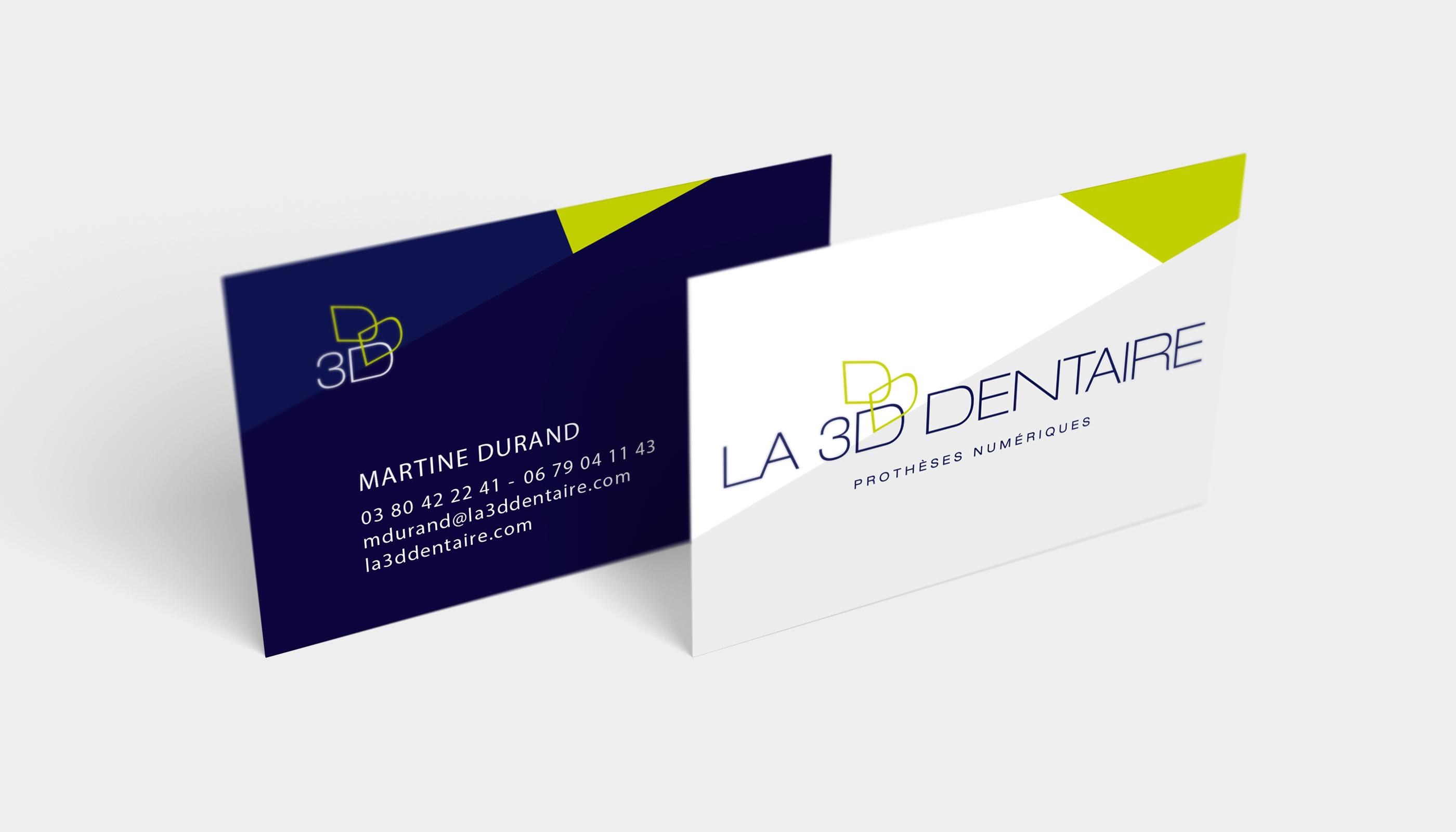 Identité Visuelle 3D Dentaire (5)